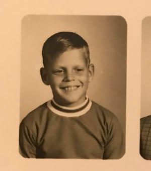 Jeff Abramowski as a child