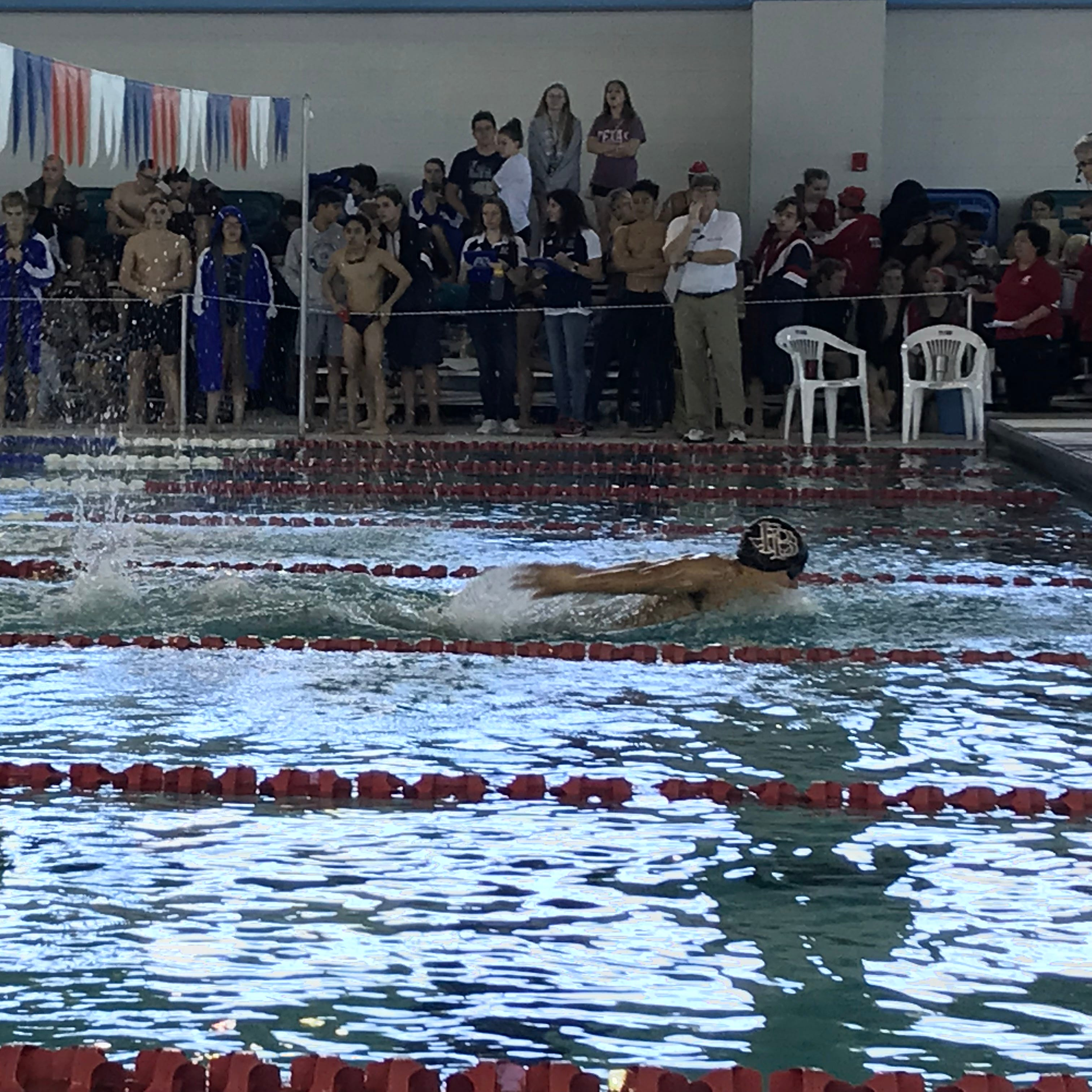 Strong finish in breaststroke propels Flour Bluff boys to third-straight district title