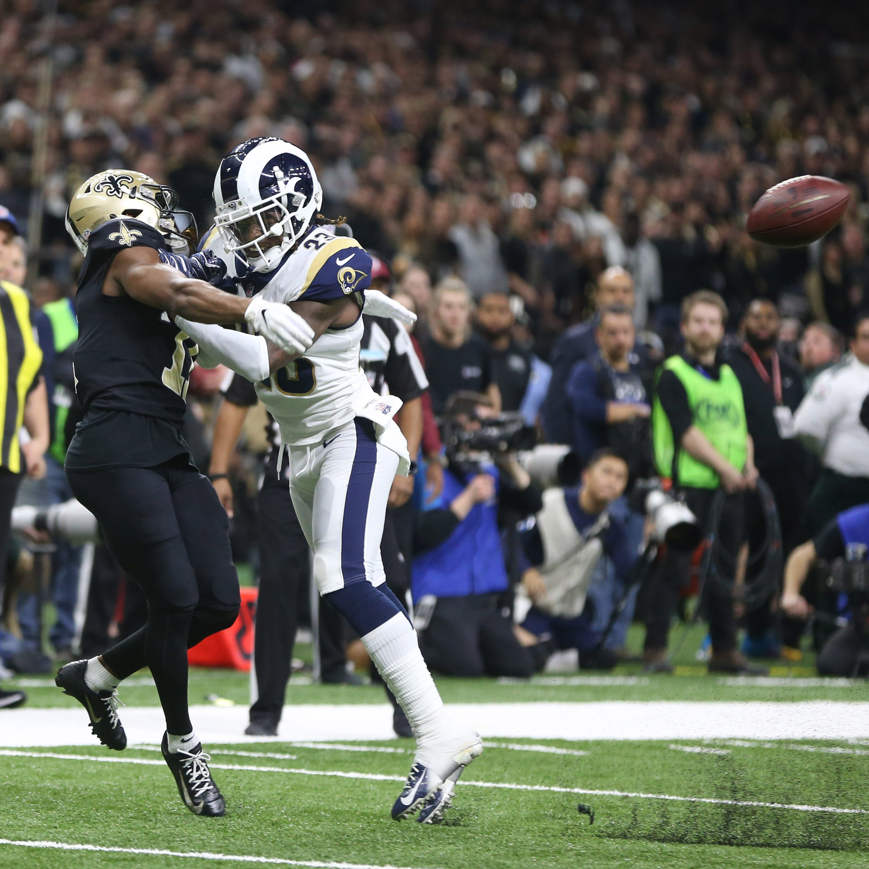 NFL Playoffs: Los Angeles Rams shock New Orleans Saints in NFC title game