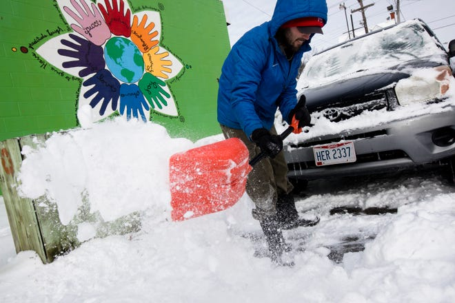 The National Weather Service in Wilmington forecast includes more snow, as much as 3 inches, for Thursday.