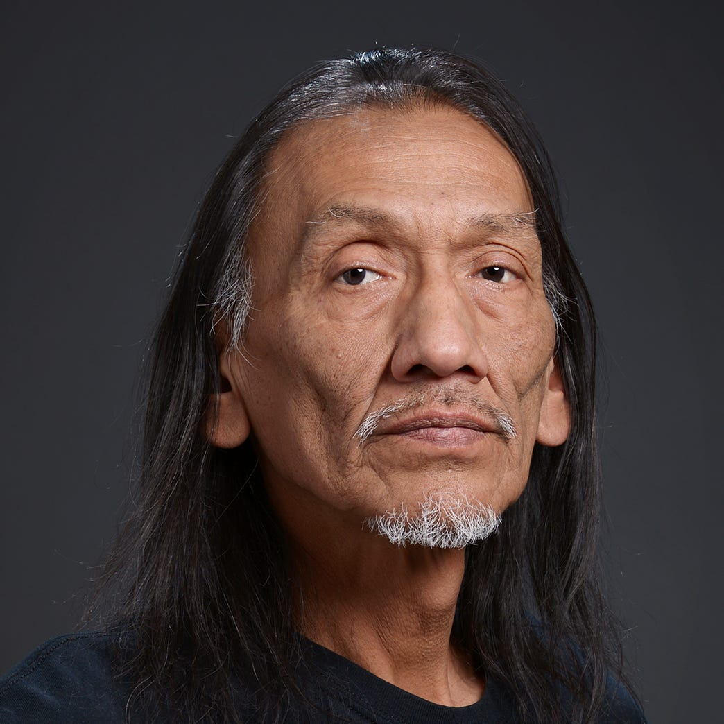Native American advocate Nathan Phillips, of...