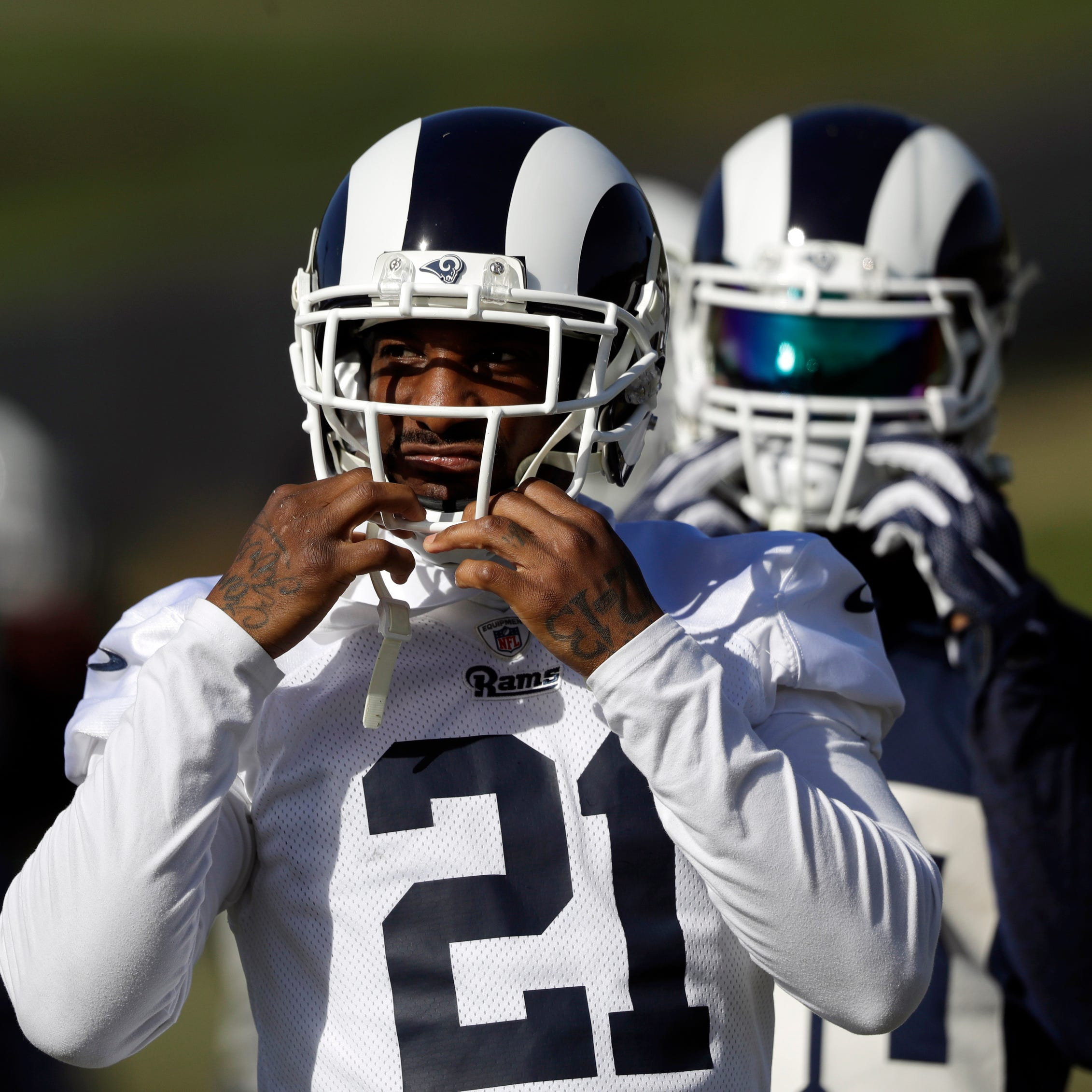 NFC: Aqib Talib is cornerstone of Rams' efforts to rein in Saints