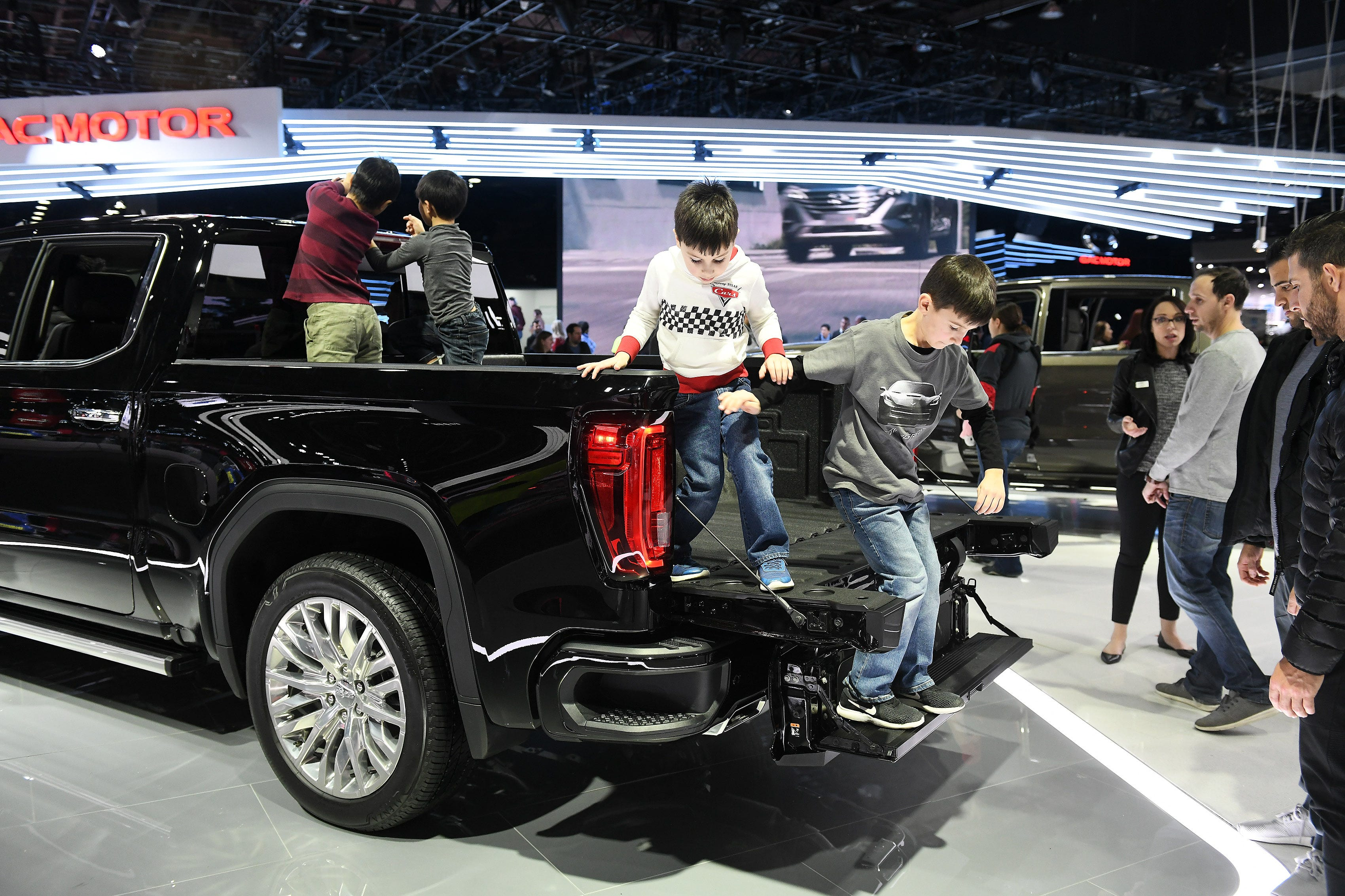 ' Auto show guests look forward to June move