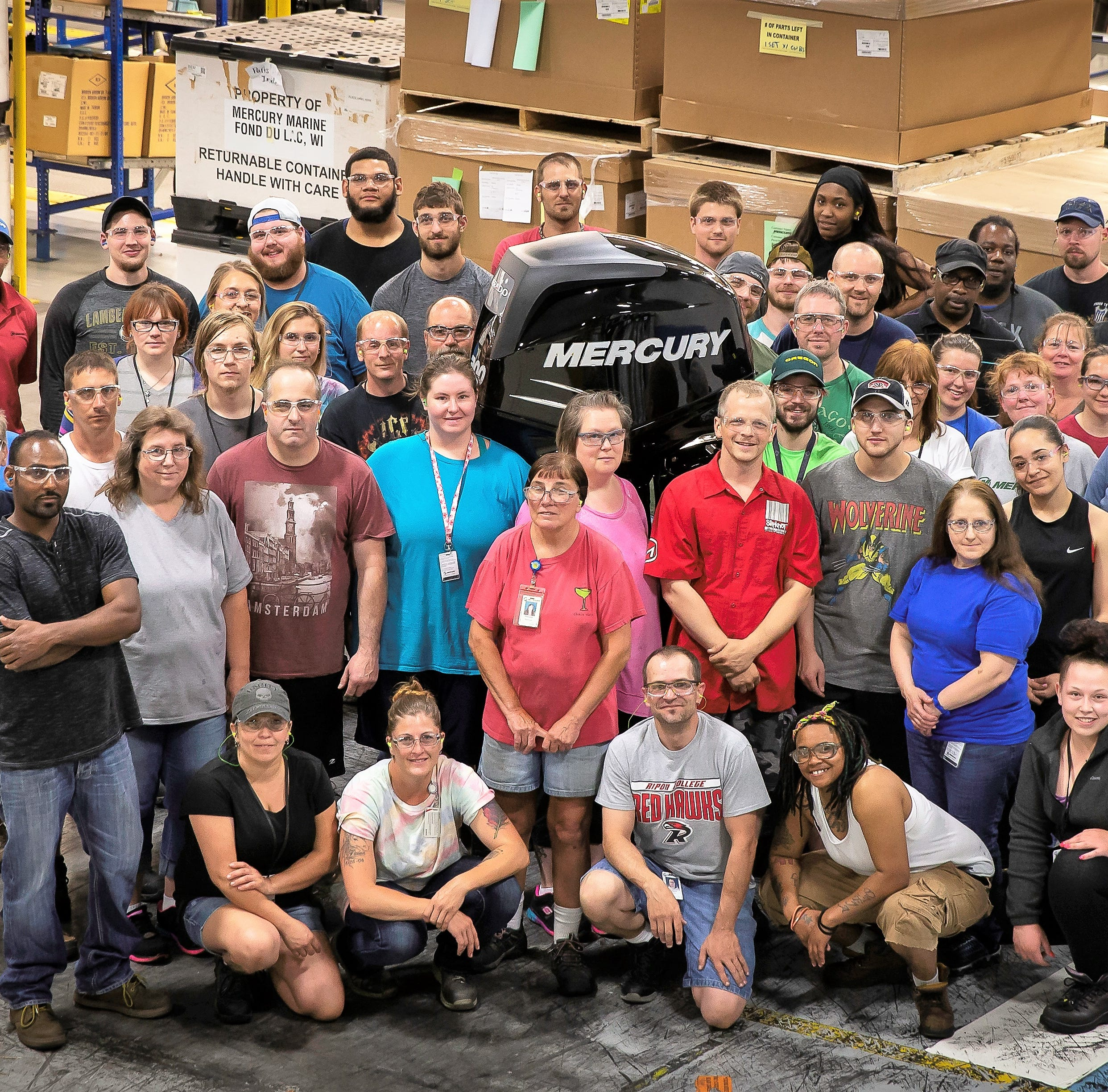 Mercury Marine turns 80, celebrates generations of employees, community