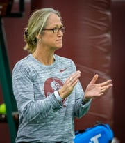 Florida State head coach Jennifer Hyde is in her 15th year at the helm of the women's tennis team.