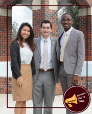 One of FSU's newest political parties, the the Amplify Movement introduces their executive slate, Stephanie Lee, Evan Steinberg and Caleb Dawkins.