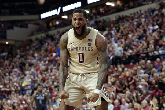 Redshirt senior forward Phil Cofer is the straw that stirs the drink for the Florida State men's basketball team.