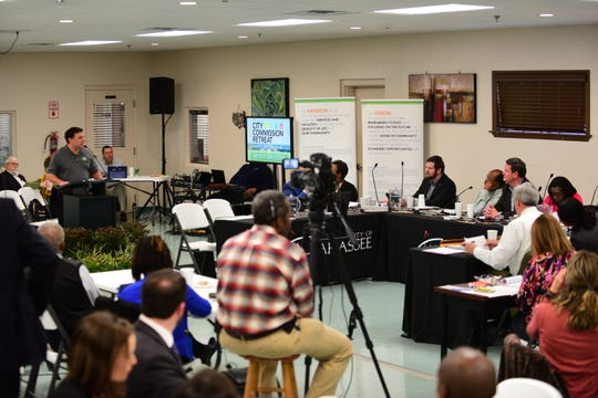 Citizens of Tallahassee got the opportunity to voice their concerns to local leaders at the annual City Commission Retreat on Wednesday.