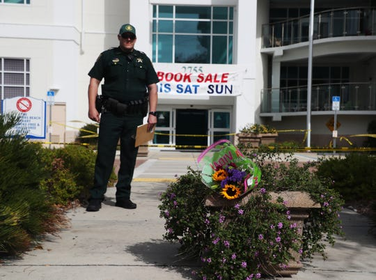 Lee County Sheriff's Office is investigating a fatal stabbing at Fort Myers Beach Library on Sunday, Jan. 20, 2019. One person has been taken into custody on second degree murder charges.