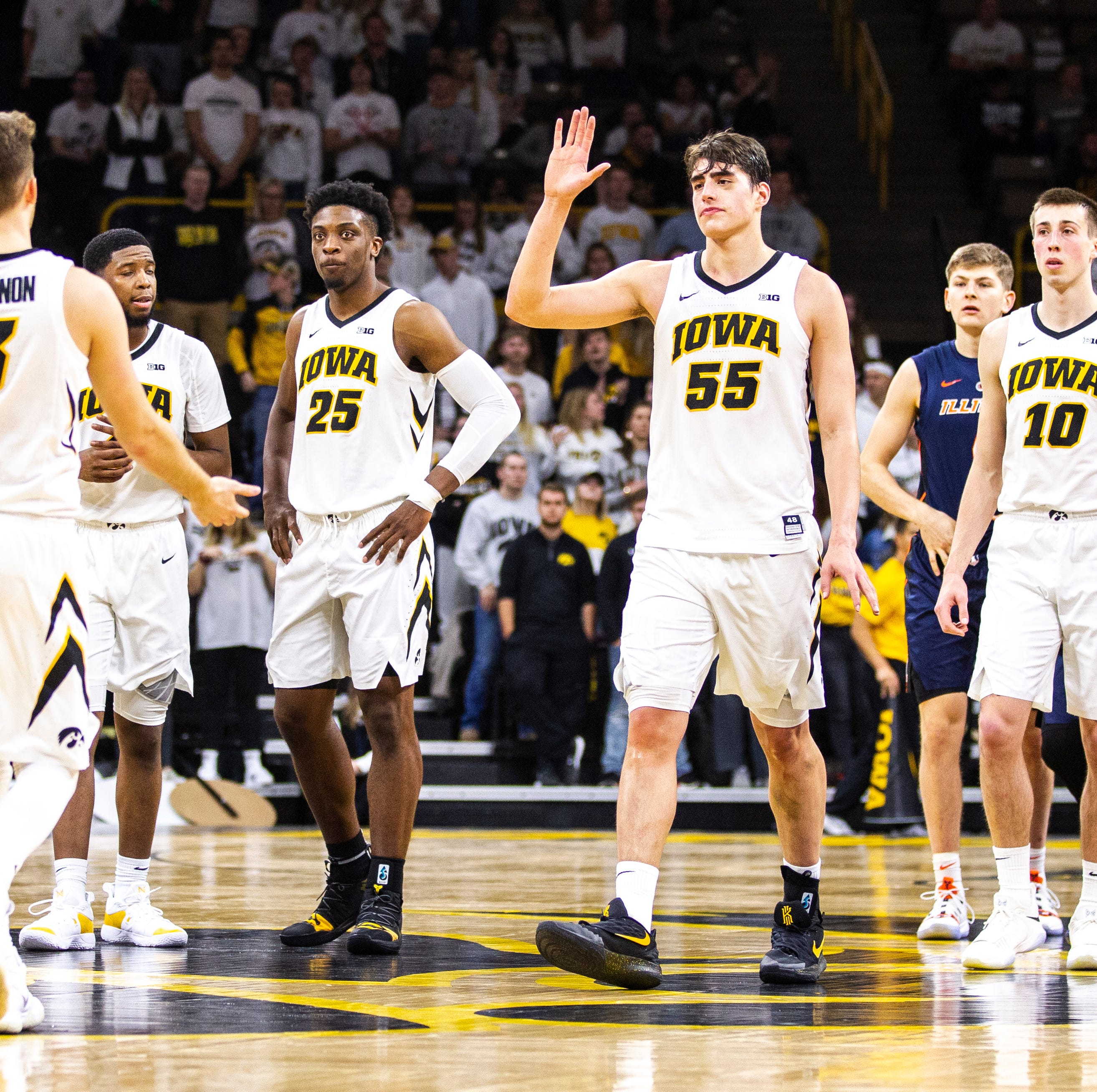 Leistikow: Being good not good enough for Hawkeyes after 5th straight win. 'We want to be great.'