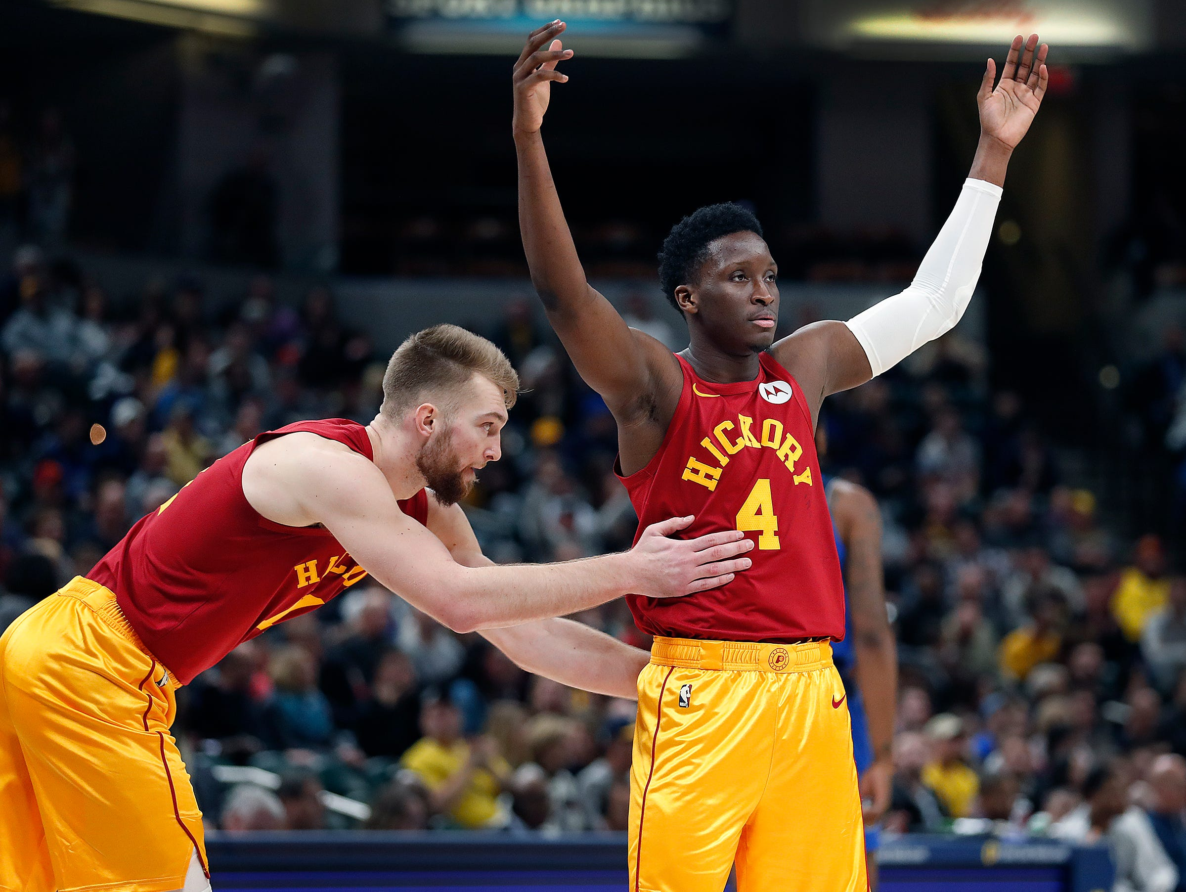 Pacers' Kevin Pritchard: No timeline for Victor Oladipo's return from knee injury