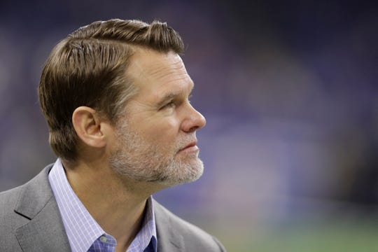 Colts general manager Chris Ballard will have plenty of cap space to play with this offseason.