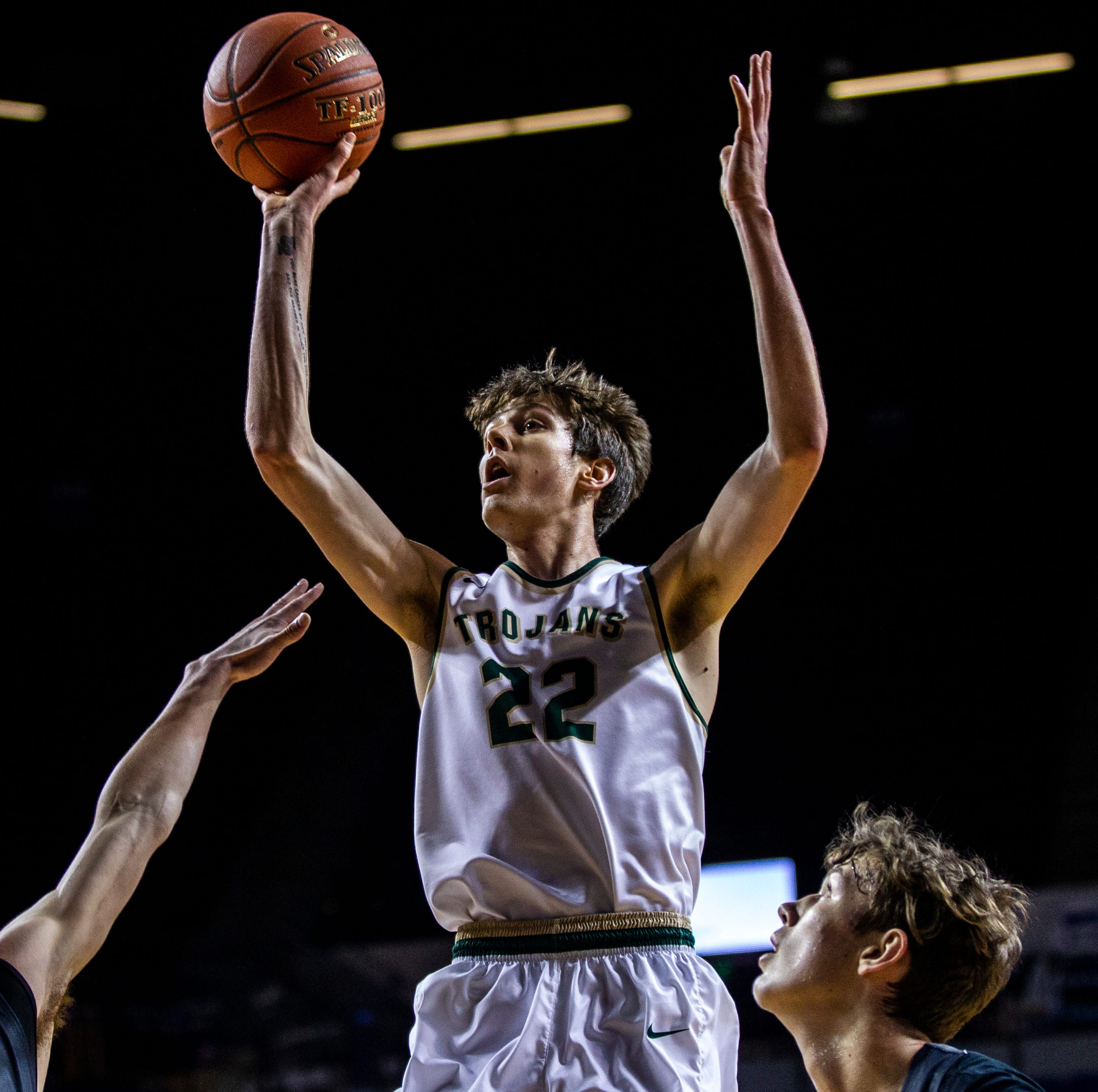 Iowa recruit Patrick McCaffery hones his elite offensive skills as he prepares to join his dad
