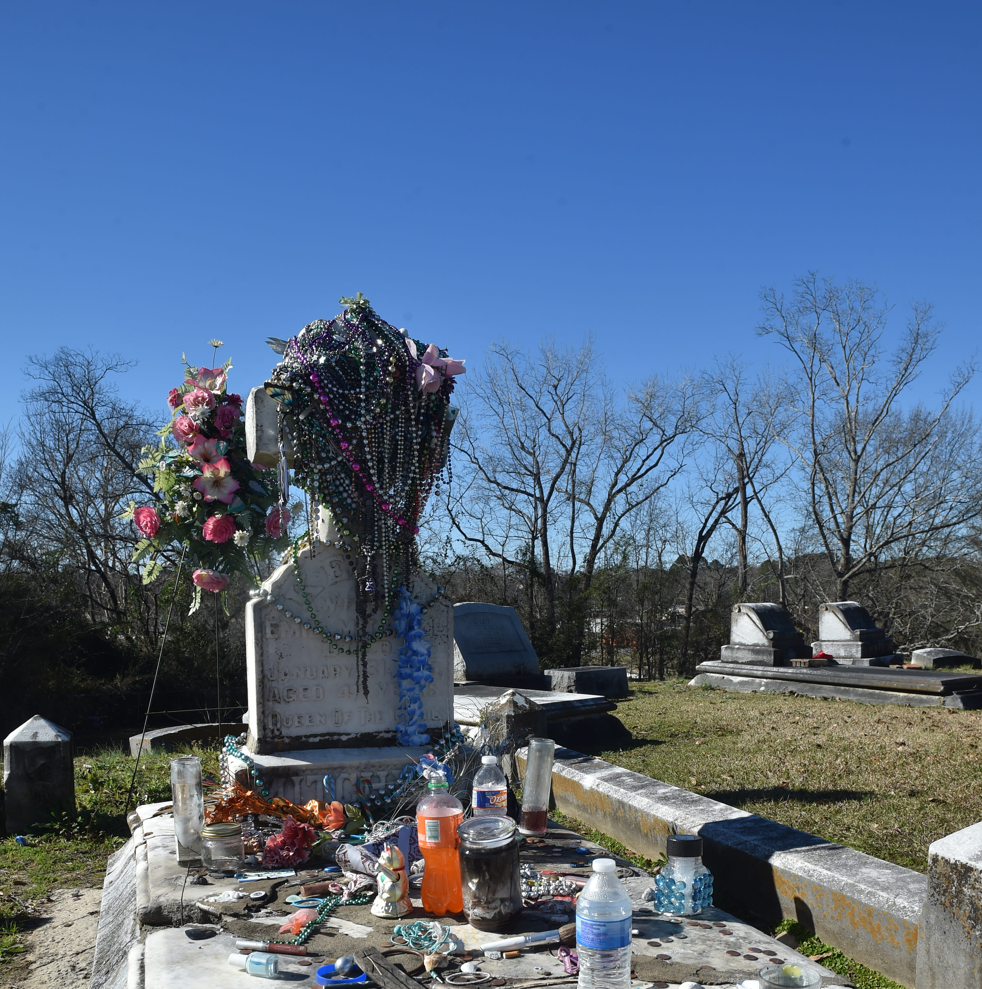 Hundreds visit her gravesite each year. The Queen of the Gypsies is Mississippi royalty