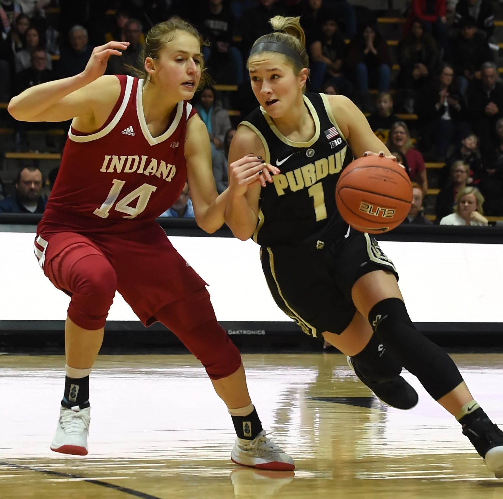Women's basketball gives Purdue sweep of Indiana on rivalry weekend