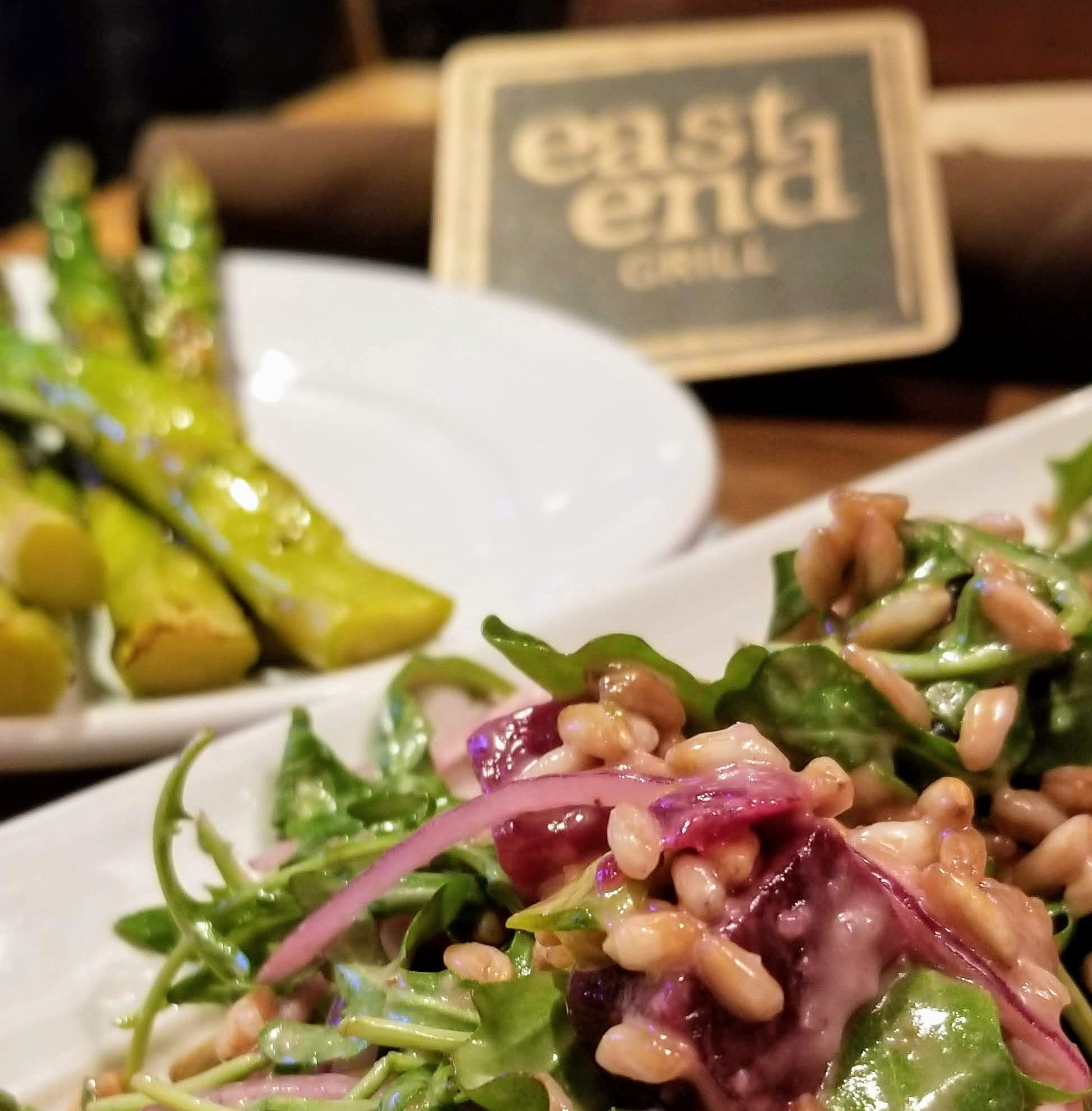 Travel to the not so far East End Grill for vegan fare
