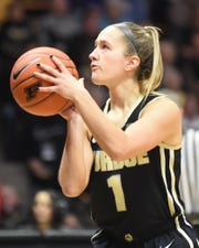 Scenes from a Sunday afternoon nail biter as the Purdue Boilermakers beat the Indiana Hoosiers at Mackey Arena.  Karissa McLaughlin.