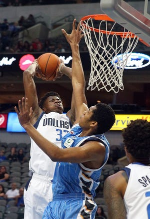 Kostas Antetokounmpo has a two-way deal with Dallas Mavericks, although he hasn't yet played in regular season game.