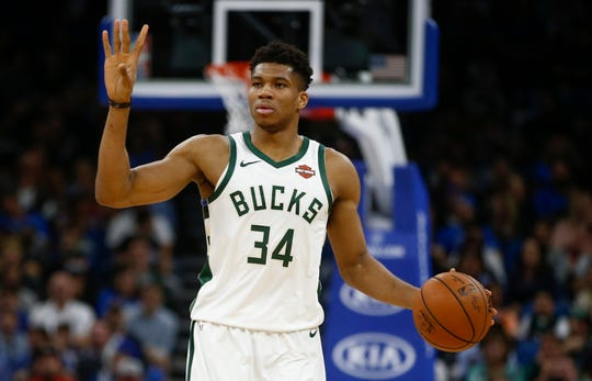 With NBA greatness, comes hip-hop shout-outs. And Bucks superstar Giannis Antetokounmpo has gotten plenty of them already, with references from Travis Scott, Lil Wayne, Public Enemy and other rap stars in their songs.