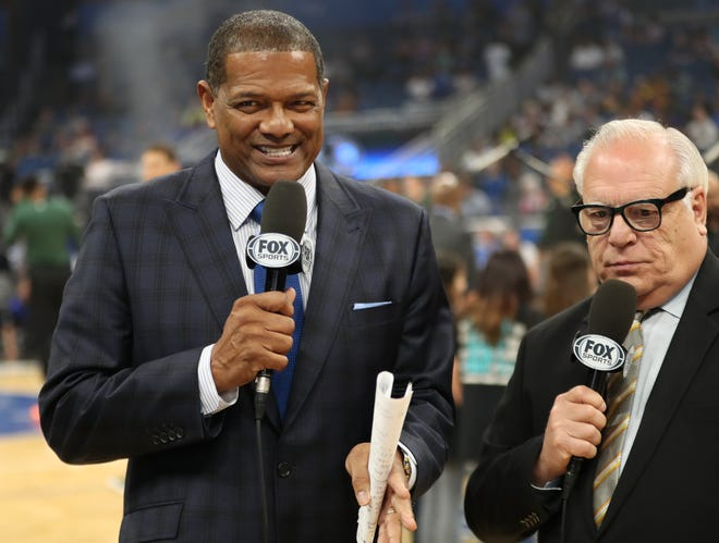Marques Johnson (left) has been a longtime fixture in the Bucks organization.