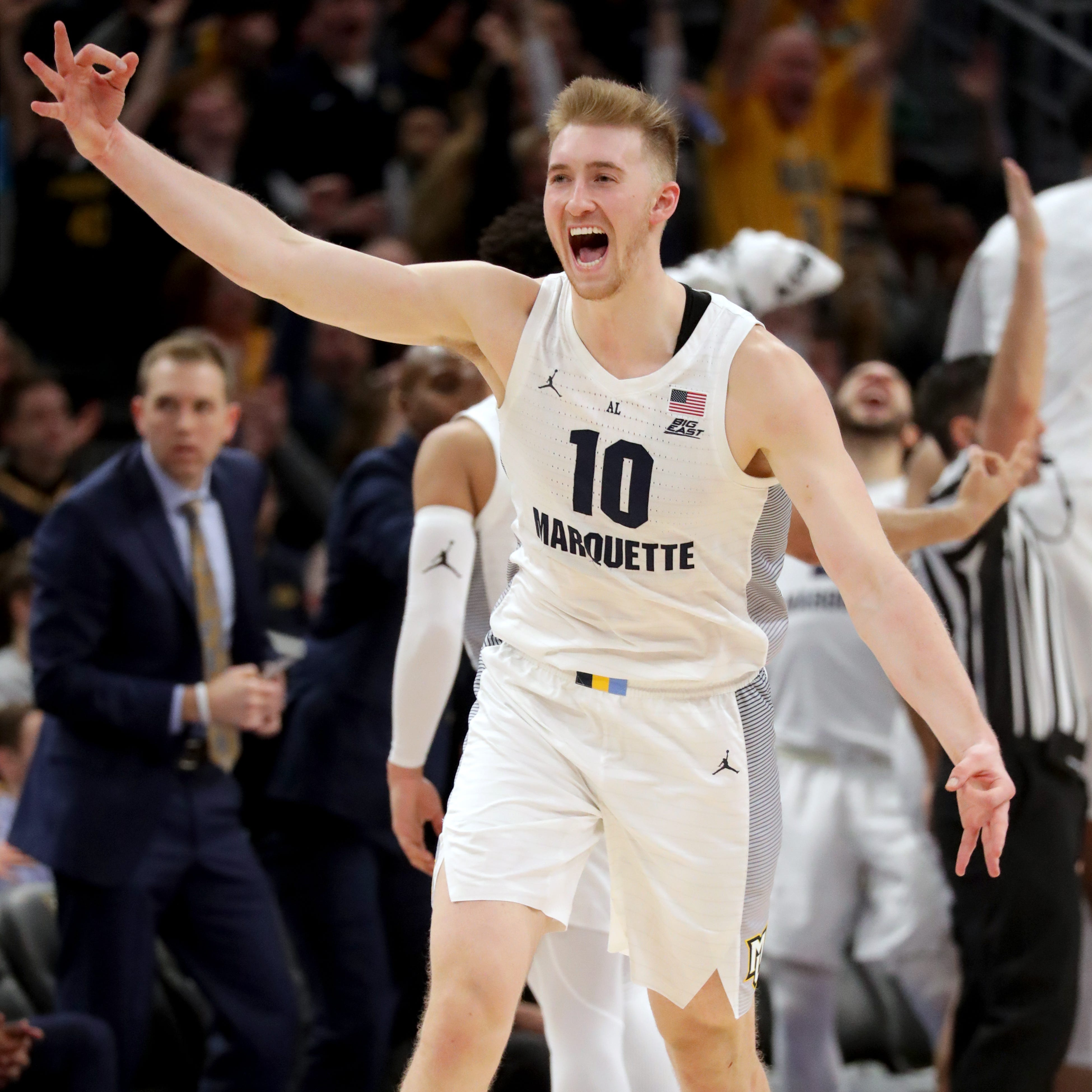 Marquette 79, Providence 68: Sam Hauser takes over in second half