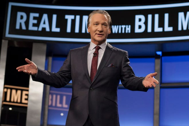 Comedian and talk-show host Bill Maher plays Milwaukee's Riverside Theater, May 5.