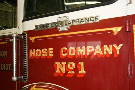 The pump truck started its service career in the community of Westbury in Long Island, N.Y. as part of Hose Company #1. The Henderson Volunteer Fire Department purchased the truck 2001, prior to Sept. 11 terrorist attacks, but the truck was commandeered after 96 emergency units were destroyed or damaged after the Twin Towers fell.