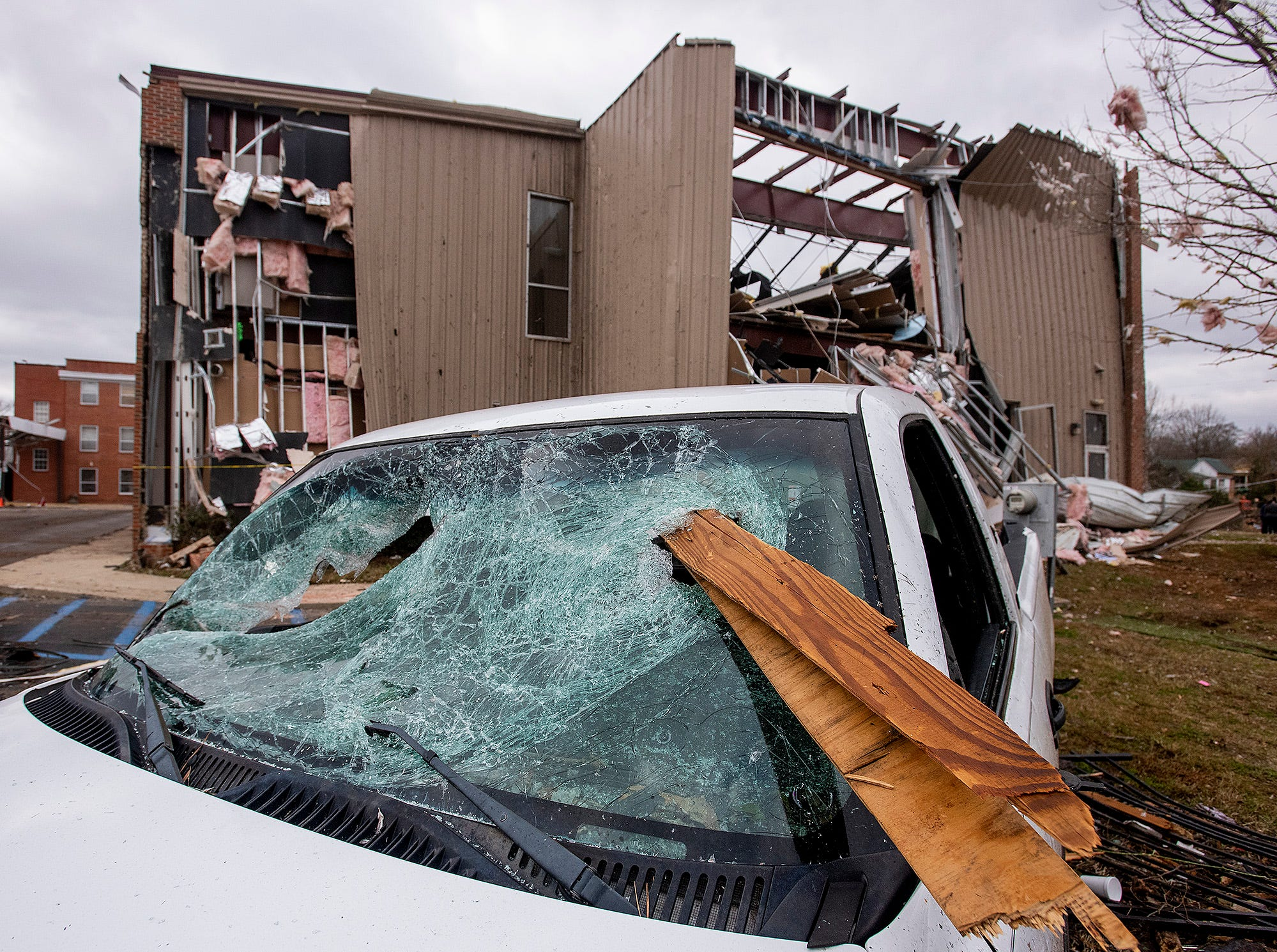 Damage on Sunday January 20, 2019, after a tornado hit Wetumpka, Ala., on Saturday afternoon.