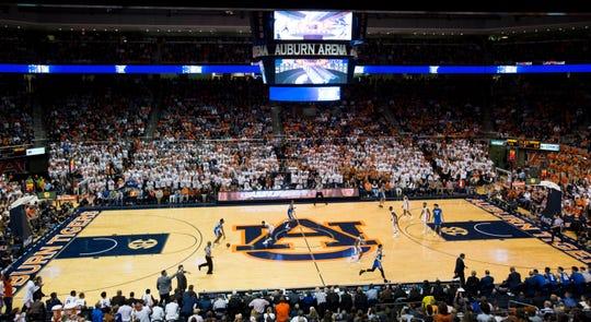 Auburn takes on Kentucky at Auburn Arena in Auburn, Ala., on Saturday, Jan. 19, 2019. Kentucky defeats Auburn 82-80.