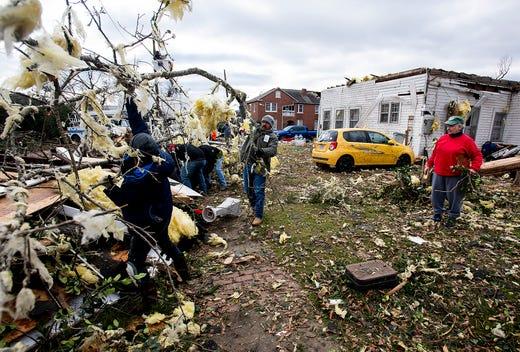 Wetumpka, Alabama, Tornado: Significant Damage Reported