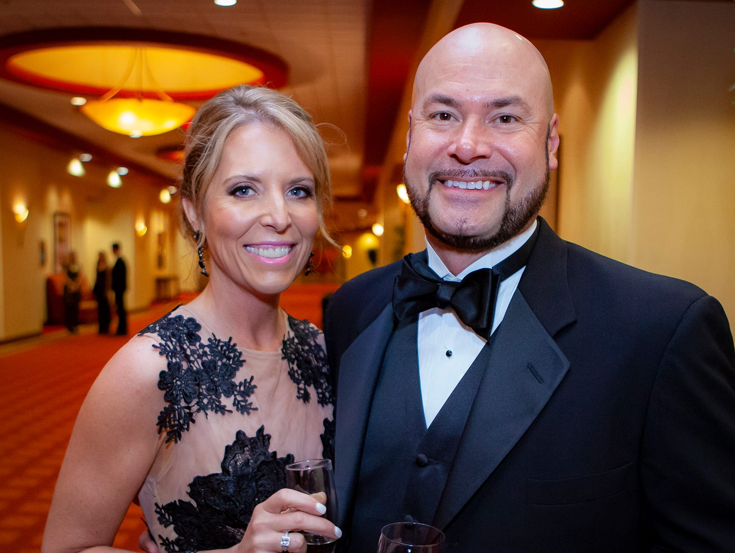Amy and Chad Hill at the 2019 Saint Thomas Rutherford Foundation Gala on Saturday, Jan. 19, 2019 at Embassy Suites Murfreesboro.