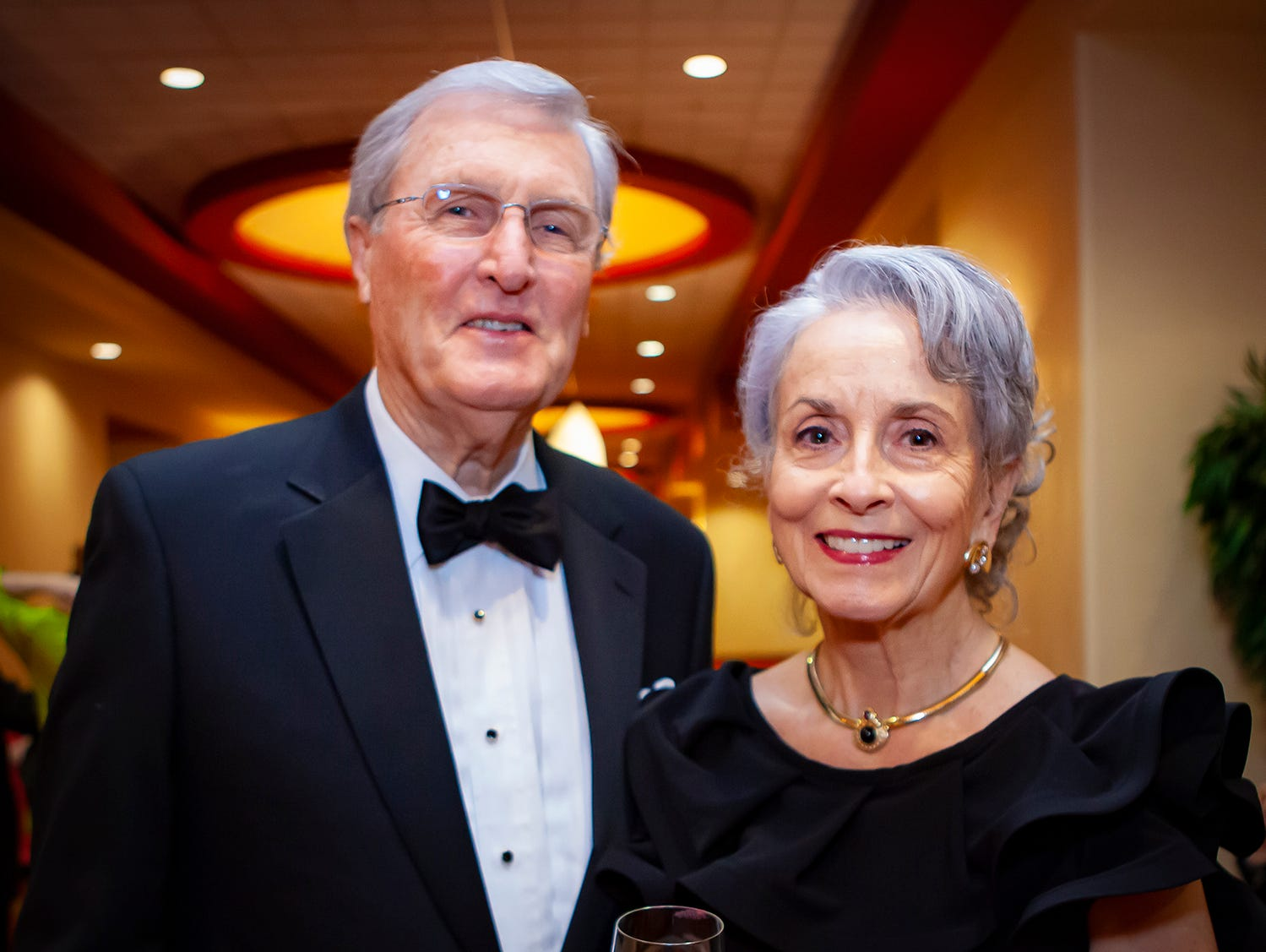 Ed and Andrea Loughry at the 2019 Saint Thomas Rutherford Foundation Gala on Saturday, Jan. 19, 2019 at Embassy Suites Murfreesboro.