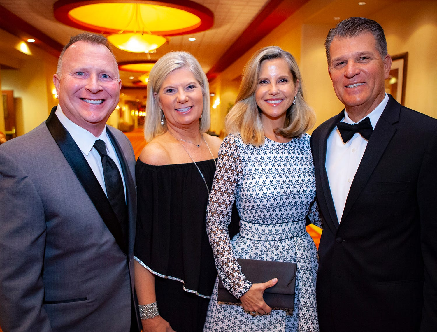 Kelly and Cindy Rollins with  Susan and the Hon. Howard Wilson at the 2019 Saint Thomas Rutherford Foundation Gala on Saturday, Jan. 19, 2019 at Embassy Suites Murfreesboro.