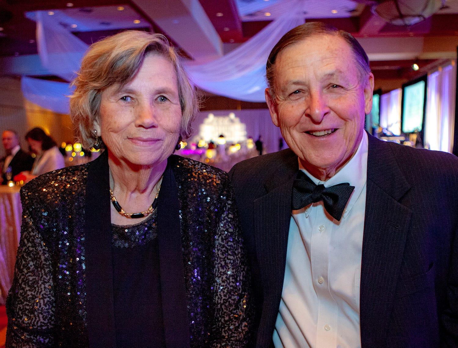 Glenda and Paul Dyer at the 2019 Saint Thomas Rutherford Foundation Gala on Saturday, Jan. 19, 2019 at Embassy Suites Murfreesboro.
