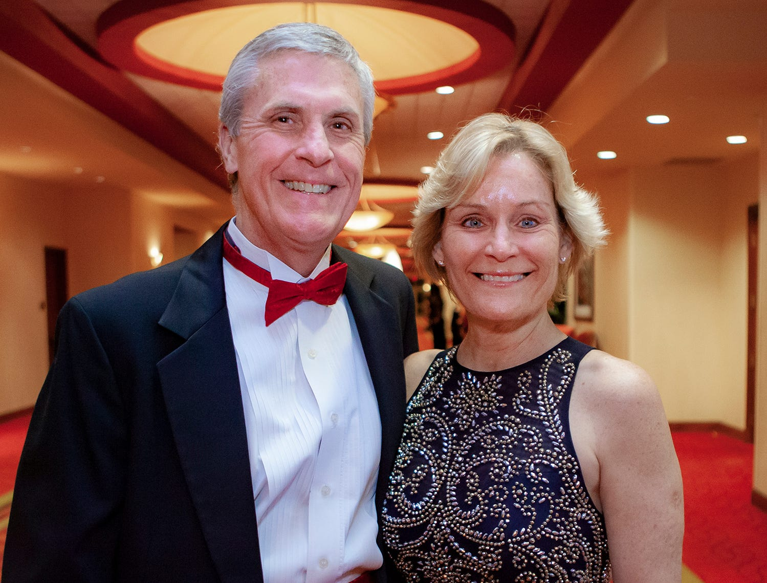 Mike and Beth Ussery at the 2019 Saint Thomas Rutherford Foundation Gala on Saturday, Jan. 19, 2019 at Embassy Suites Murfreesboro.