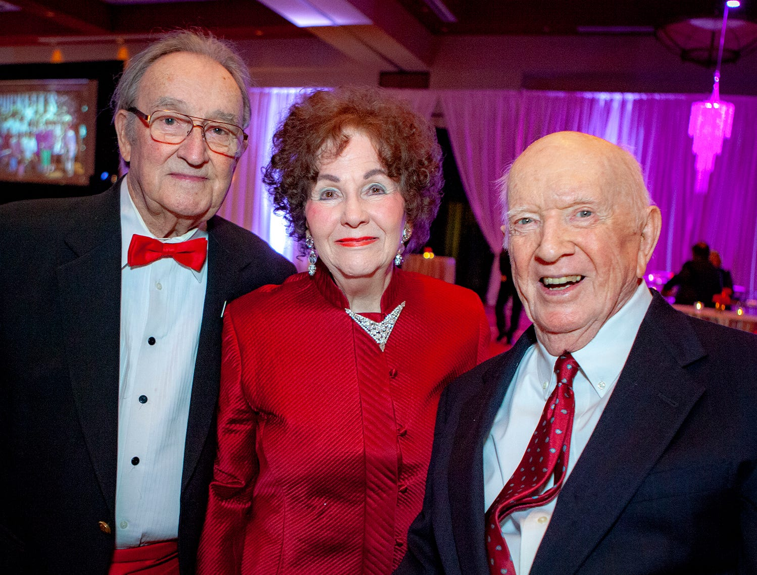 Herby and Shirley LaRoche Powell with Jack Sant Amour at the 2019 Saint Thomas Rutherford Foundation Gala on Saturday, Jan. 19, 2019 at Embassy Suites Murfreesboro.