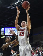 Belmont's Nick Muszynski had 23 points in Saturday's 92-74 win over Tennessee State at Curb Event Center.