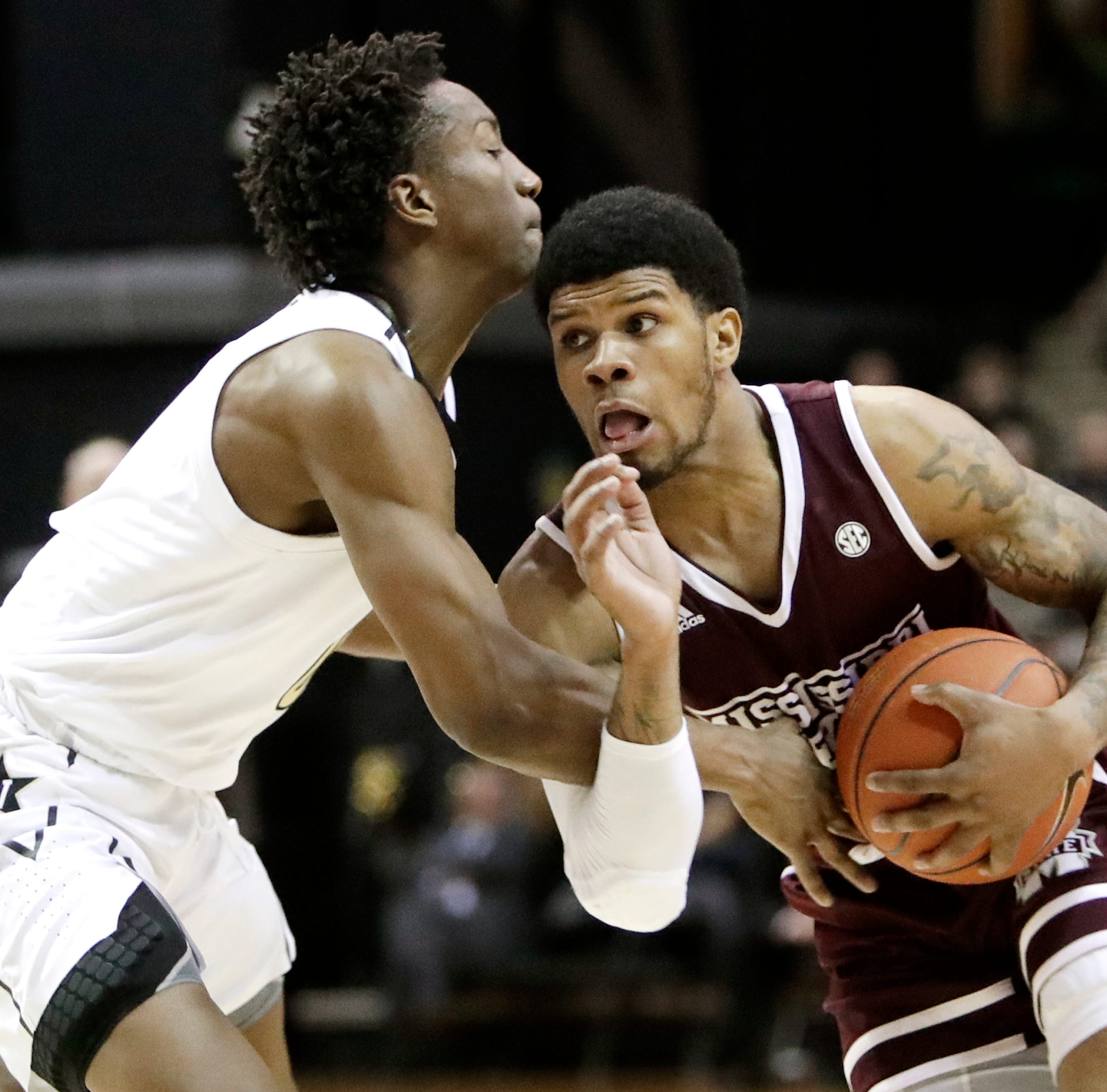 Vanderbilt basketball losing streak grows in loss to Mississippi State