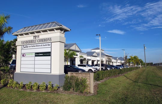 Ground was broken last week for the second phase of Vanderbilt Commons, the retail center on the northern side of Vanderbilt Beach Road west of Collier Boulevard.