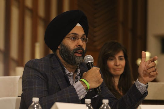 NJ Attorney General, Gurbir Grewal is part of a Social Justice Forum presented by the Dr. Martin Luther King Jr. Celebration Committee of Ridgewood and Glenn Rock at the All Saints Episcopal Church in Glenn Rock on January 19, 2019.
