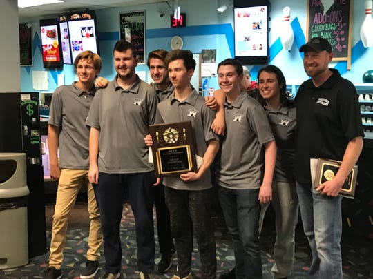 Mahwah captured its first-ever county title in boys bowling when it won the Groups 1-2 division at the Bergen tournament on Saturday, Jan. 19, 2019.