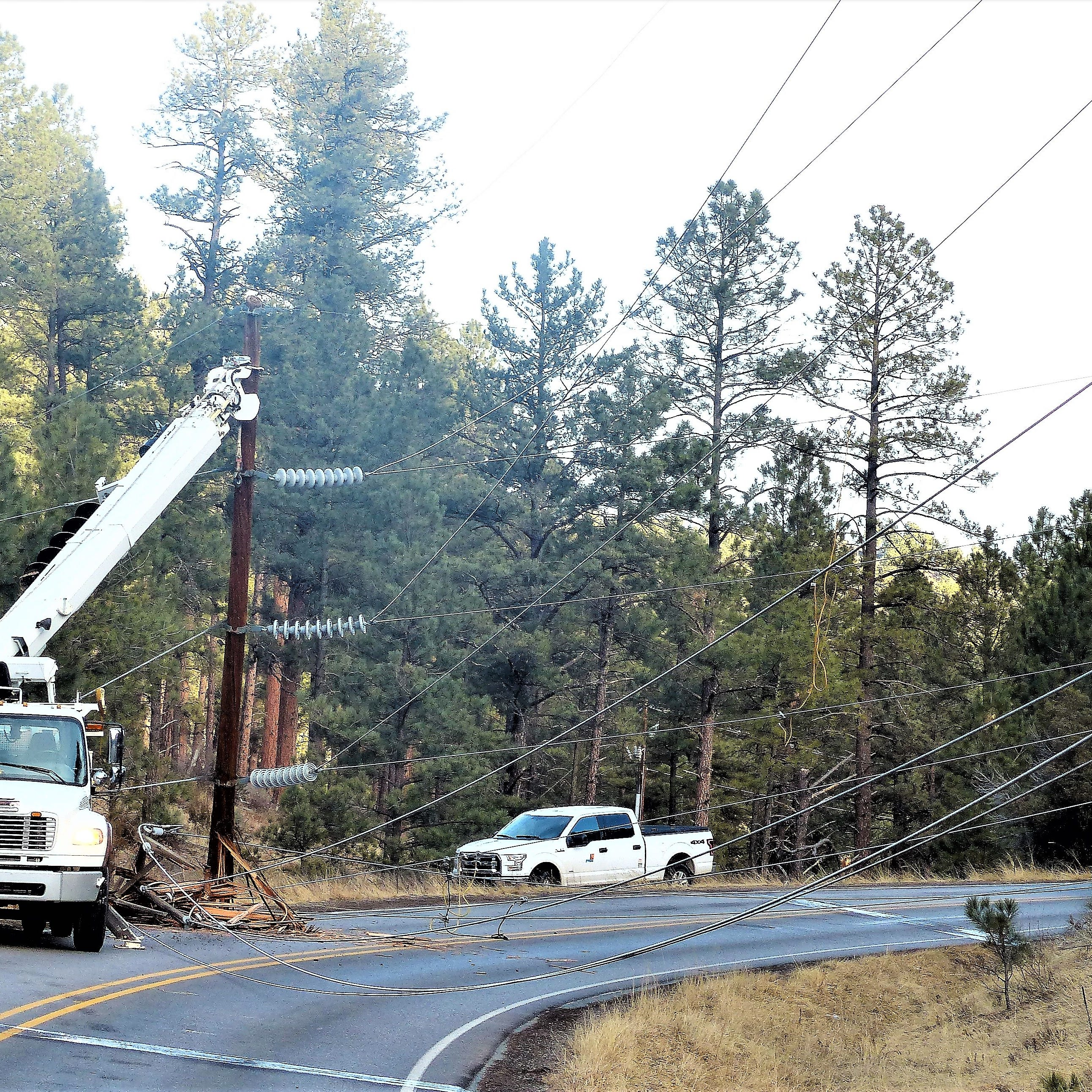 Ruidoso without power for more than eight hours and counting