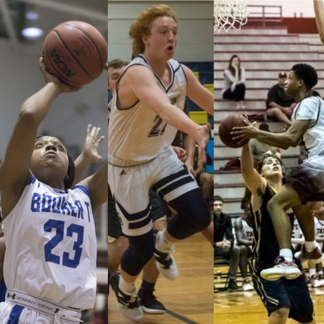 Jaila Roberts, Chance Napier and Love Bettis (L to R) are three of this week's candidates for PNJ Player of the Week.