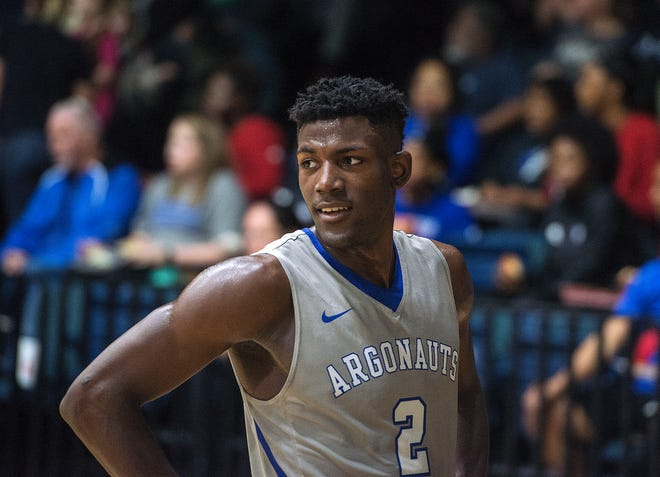 West Florida's Jon Brown as they take on the West Georgia Wolves Saturday, January 19, 2019 at the UWF Field House.
