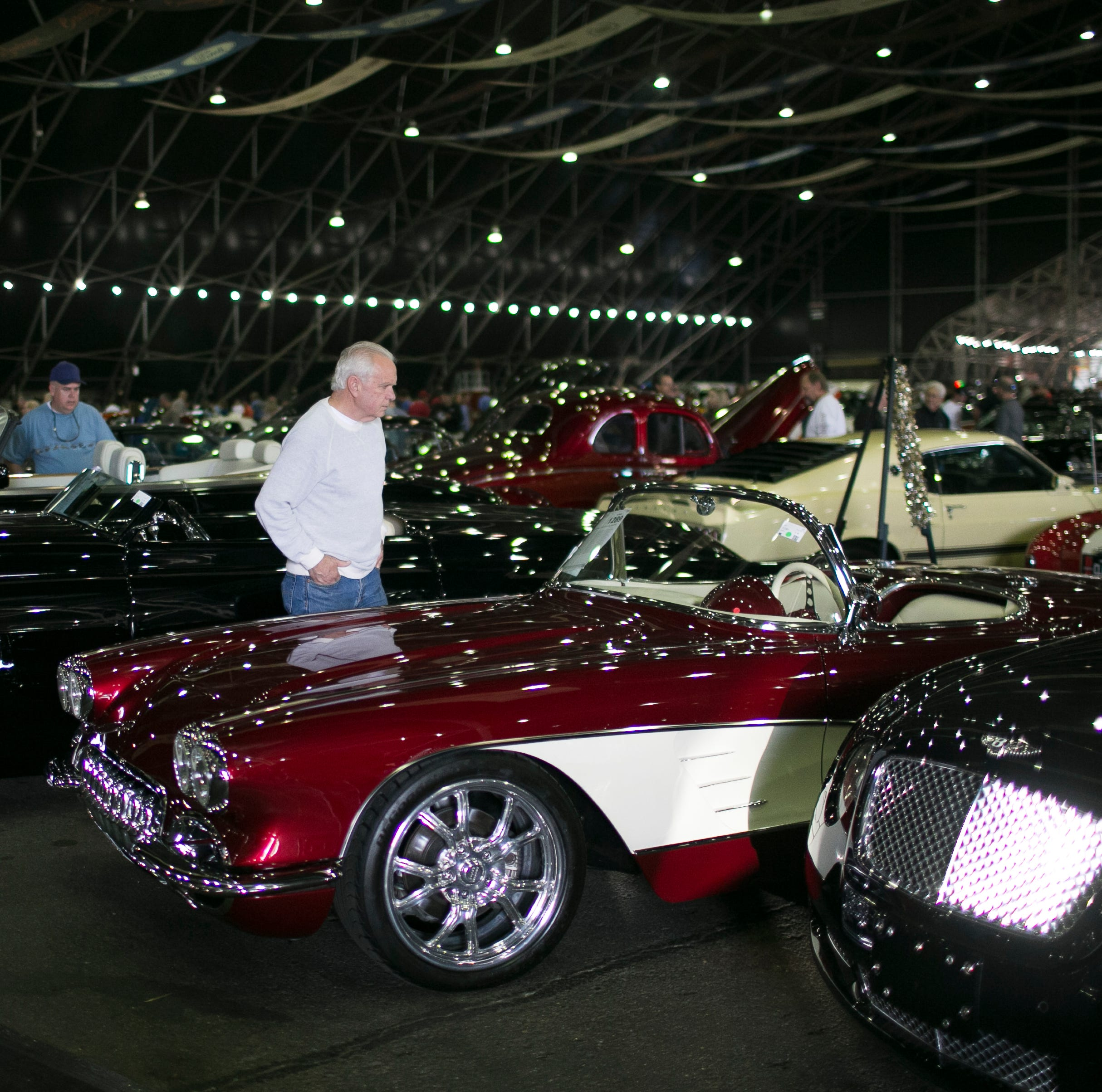 After 7 days and 7 collector-car auctions, a $7.6M bid tops Arizona Car Week