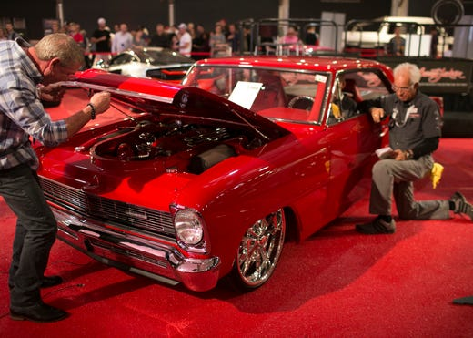 Barrett-Jackson: Here's what 10 cool cars, trucks and even a motorbike sold for Monday in Scottsdale