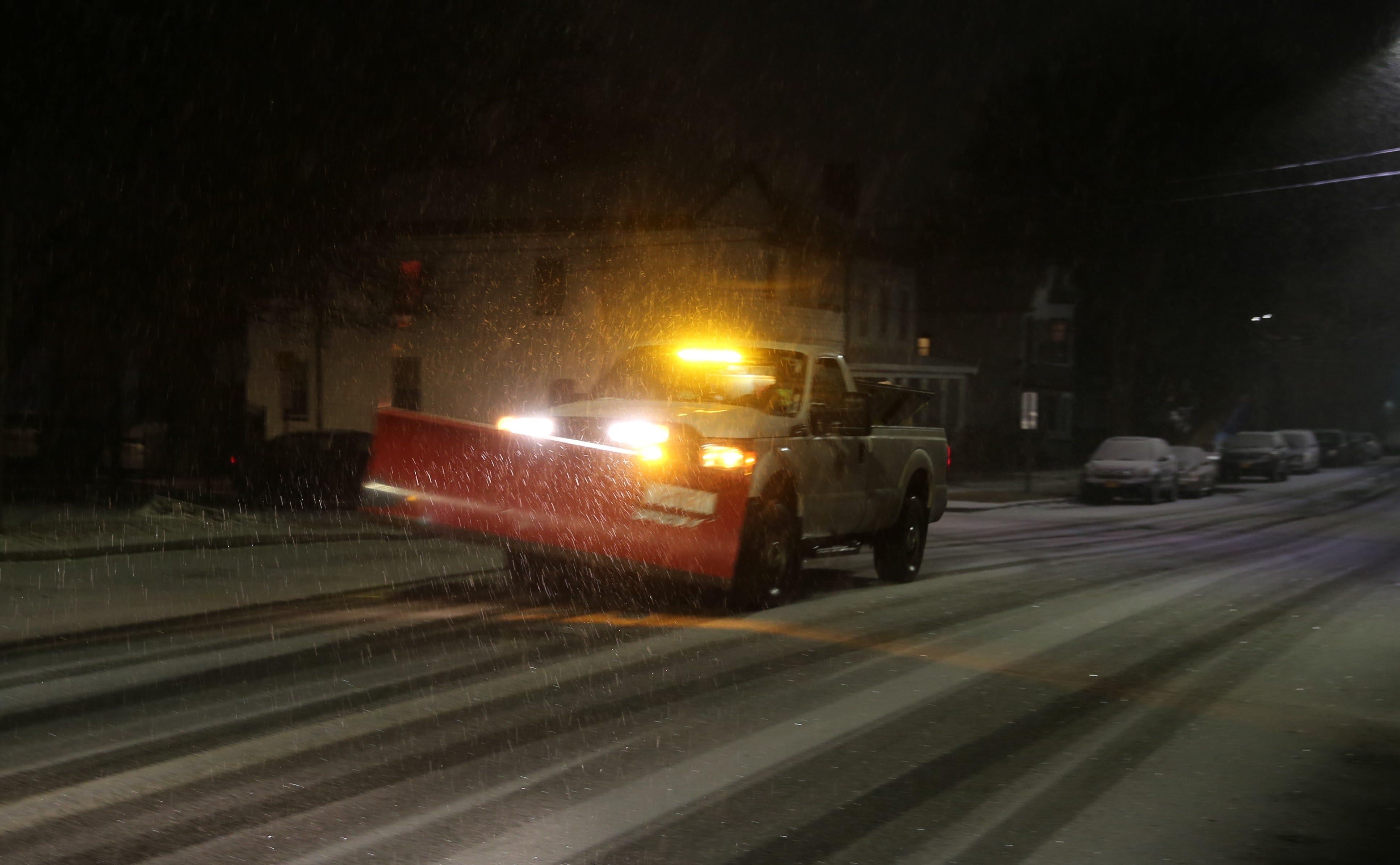 Saturday plow night