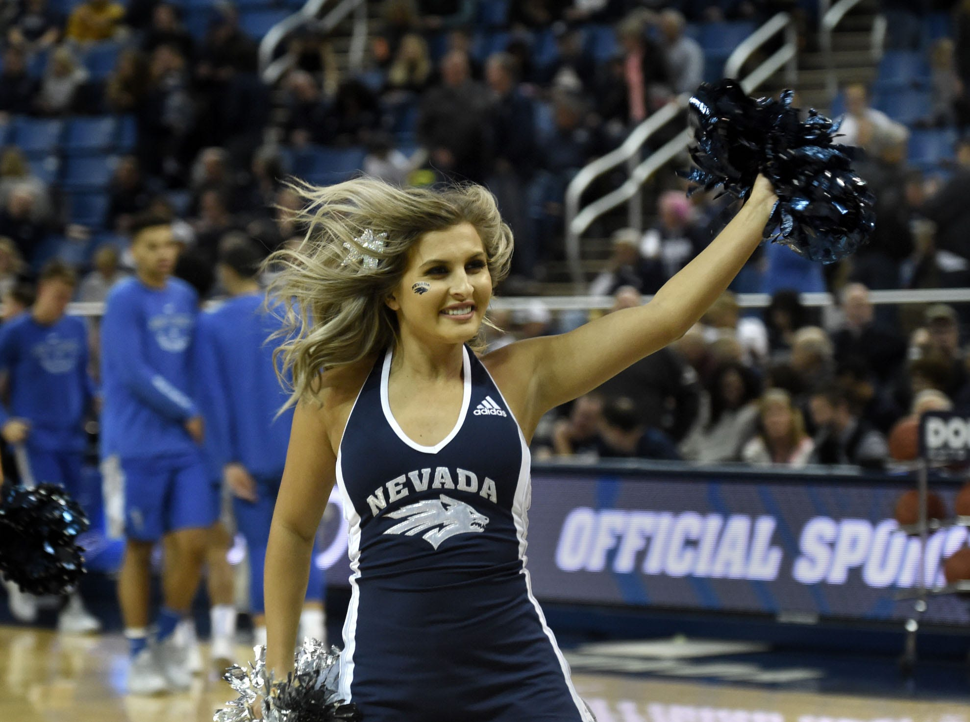Images from the Air Force at Nevada men's basketball game at Lawlor Events Center on Saturday Jan. 19, 2019.