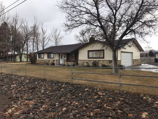 943 Dresslerville Road in Gardnerville, where Sophia Renken, 74, was found murdered on Jan. 13, 2019.