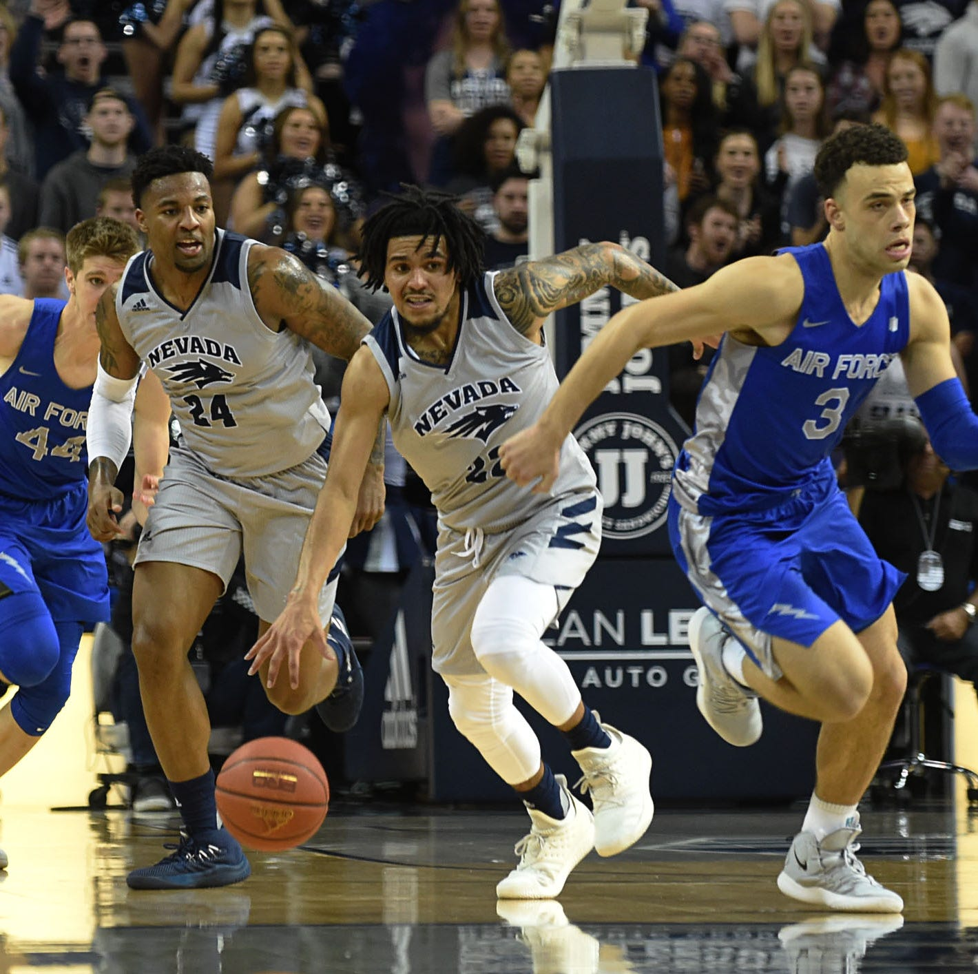 Nevada basketball jumps up to seventh in AP Top 25 national poll